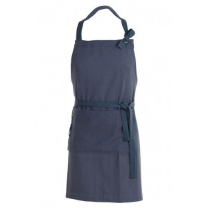 Södahl Förkläde Herringbone, blå