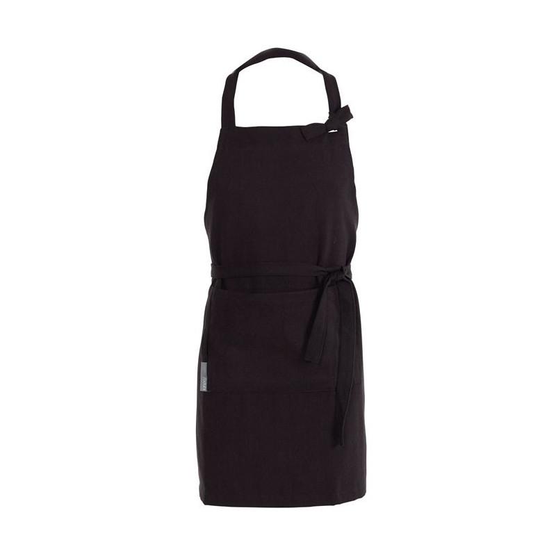 Södahl Förkläde Herringbone, svart