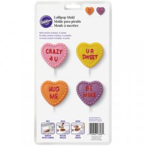 Wilton Candy Mold Alla Hjärtans Dag