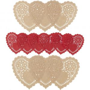Wilton Tårtpapper Mini, hjärta