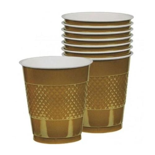 Plastmuggar Guld
