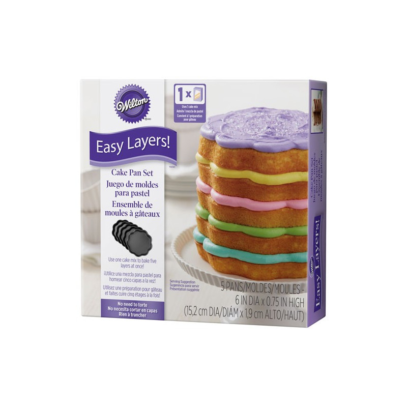 Wilton Bakform Easy Layers, blomma