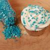 FunCakes Strössel Mini Confetti Blå, metallic