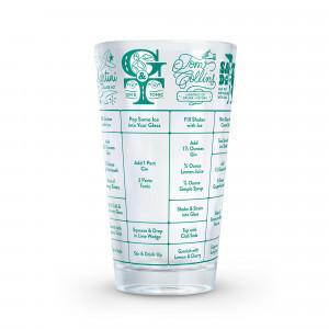Fred Gin Cocktails Mätglas med recept