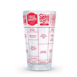 Fred Beer Cocktails Mätglas med recept
