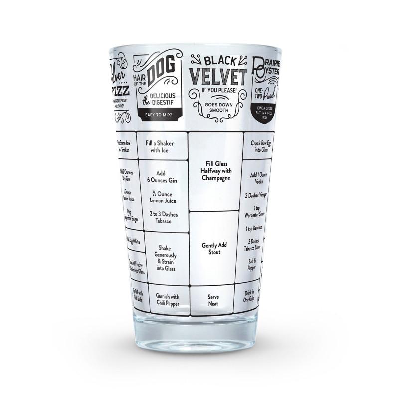Fred Hangover Cocktails Mätglas med recept
