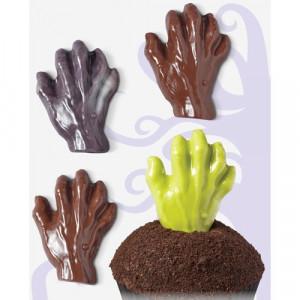 Wilton Candy Mold Chokladform, Zombie