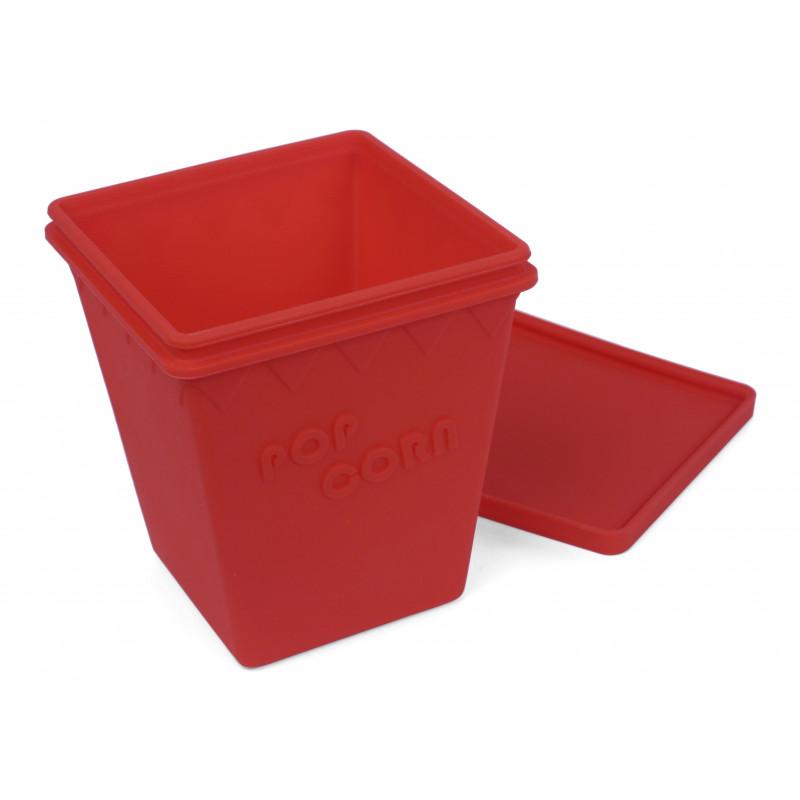 Popcornlåda, röd
