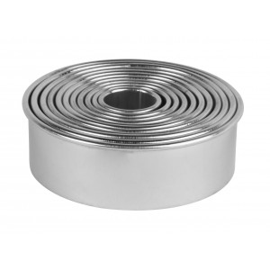 Utstickare runda Ø2-9 cm, 11 st - Exxent