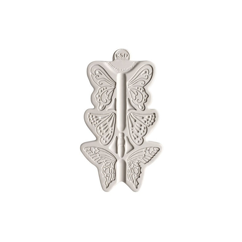 Katy Sue Designs Silikonform Butterfly Trio