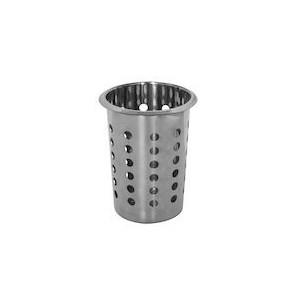 Exxent Bestickmugg med hål, rostfritt stål, Ø11,5 cm