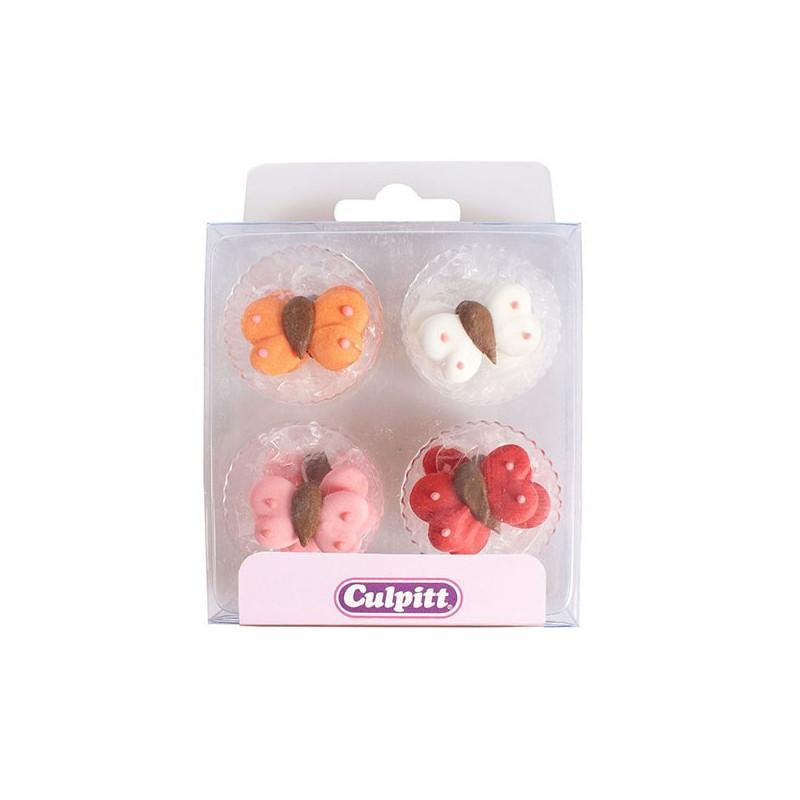 Culpitt Sockerdekorationer Fjärilar
