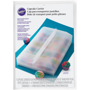 Wilton Cupcake låda i plast, stor