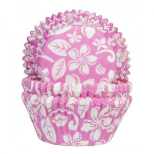 House of Marie Muffinsform Aloha Flower, rosa