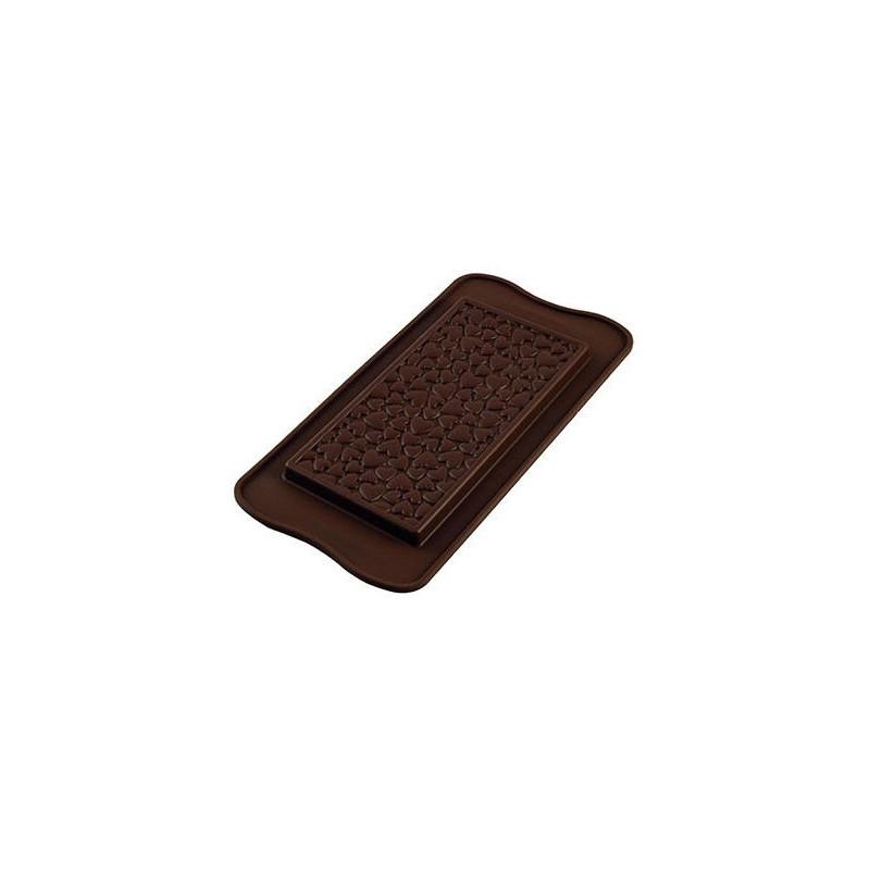Silikomart Pralinform Chokladkaka Love