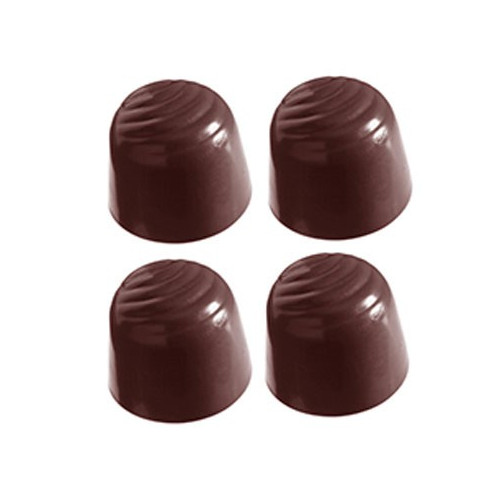 Chocolate World Pralinform Kupol, mönstrad