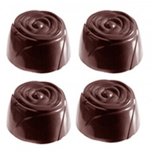 Chocolate World Pralinform Rosor