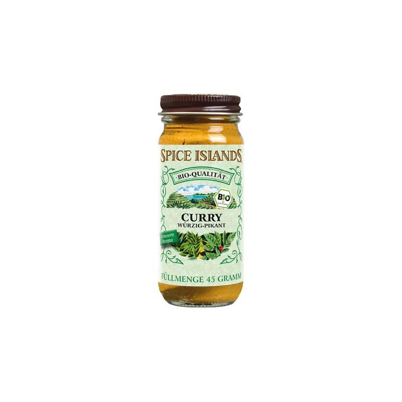 Spice Islands Curry, ekologisk