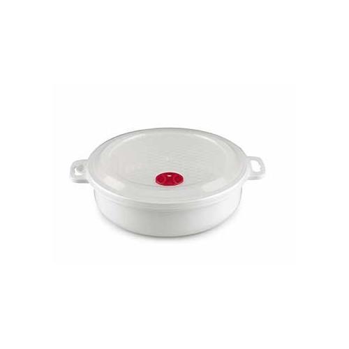 Microskål och lock med ventil 2L