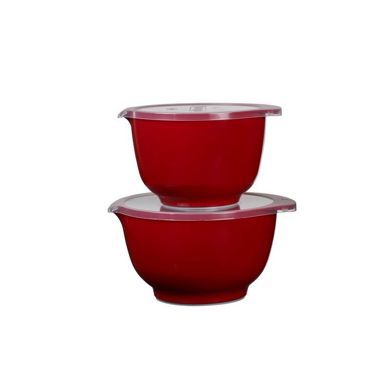 Rosti Mepal Margretheskål Set 2+3 L, Röd