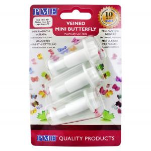 PME Utstickare Fjärilar, 3-pack