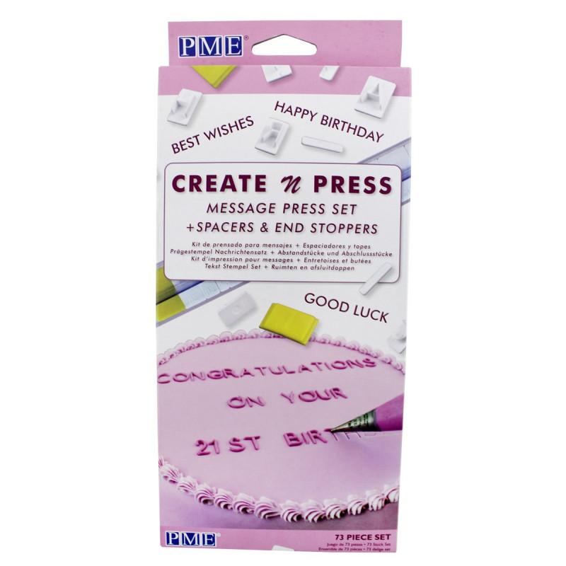 PME Create n Press Message Set