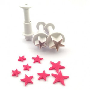 Dekofee Utstickare Mini Set, stjärnor