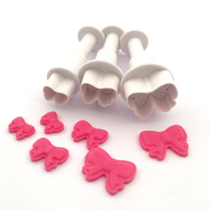 Dekofee Utstickare Mini Set, rosetter
