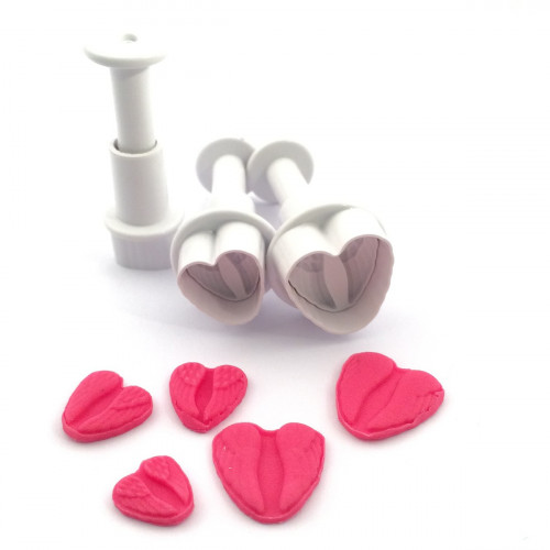 Dekofee Mini Plungers Angel Wings set/3