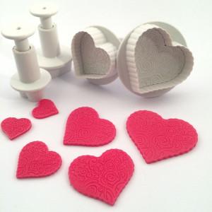 Dekofee Utstickare Hjärtan