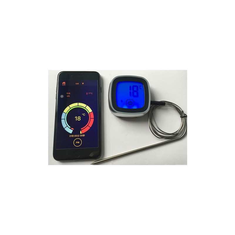 Stektermometer Appstyrd, Bluetooth