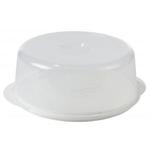 Tårtfat med lock, Ø33,5 cm - Nordiska Plast
