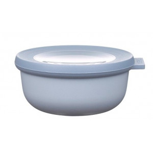 Rosti Mepal Skål med lock Cirqula, 0,35 l, blå
