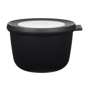 Rosti Mepal Skål med lock Cirqula, 0,5 l, svart