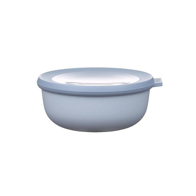 Rosti Mepal Skål med lock Cirqula, 0,75 l, blå
