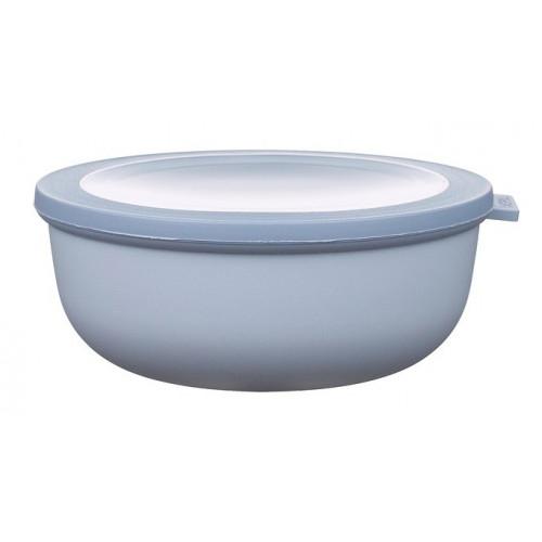 Rosti Mepal Skål med lock Cirqula, 1,25 l, blå
