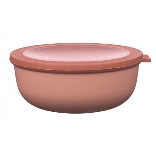 Rosti Mepal Skål med lock Cirqula, 1,25 l, rosa