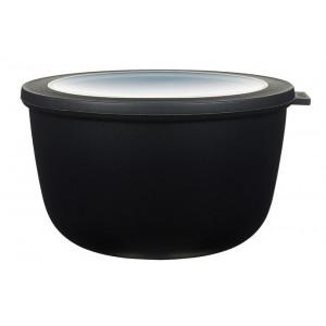 Rosti Mepal Skål med lock Cirqula, 2 l, svart