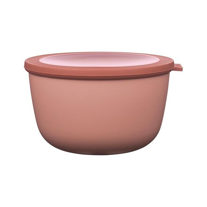 Rosti Mepal Skål med lock Cirqula, 2 l, rosa