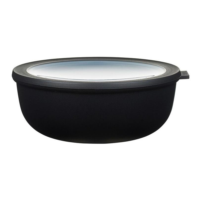 Rosti Mepal Skål med lock Cirqula, 2,25 l, svart