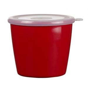 Rosti Mepal Skål med lock 0,65 l, Volumia, Röd
