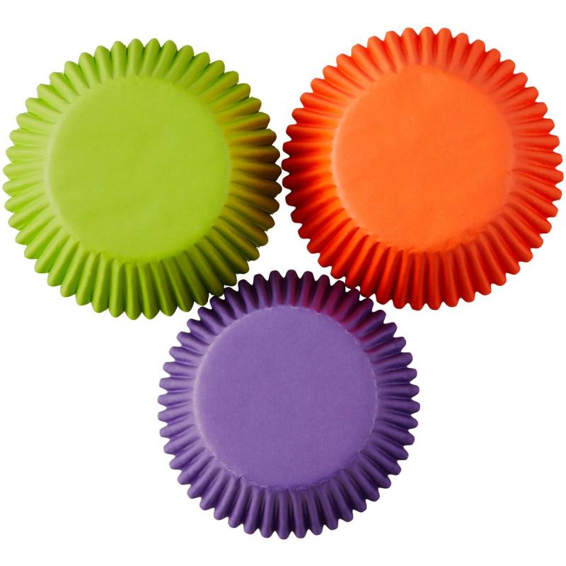 Wilton Muffinsform Solid Color, Halloween