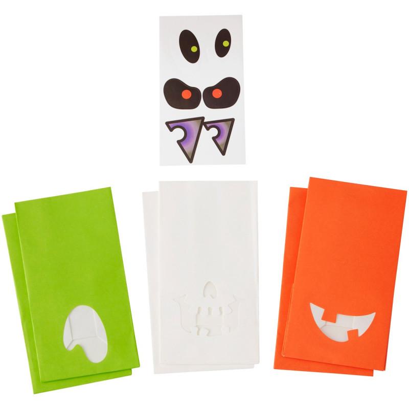 Wilton Godispåsar Halloween, med stickers