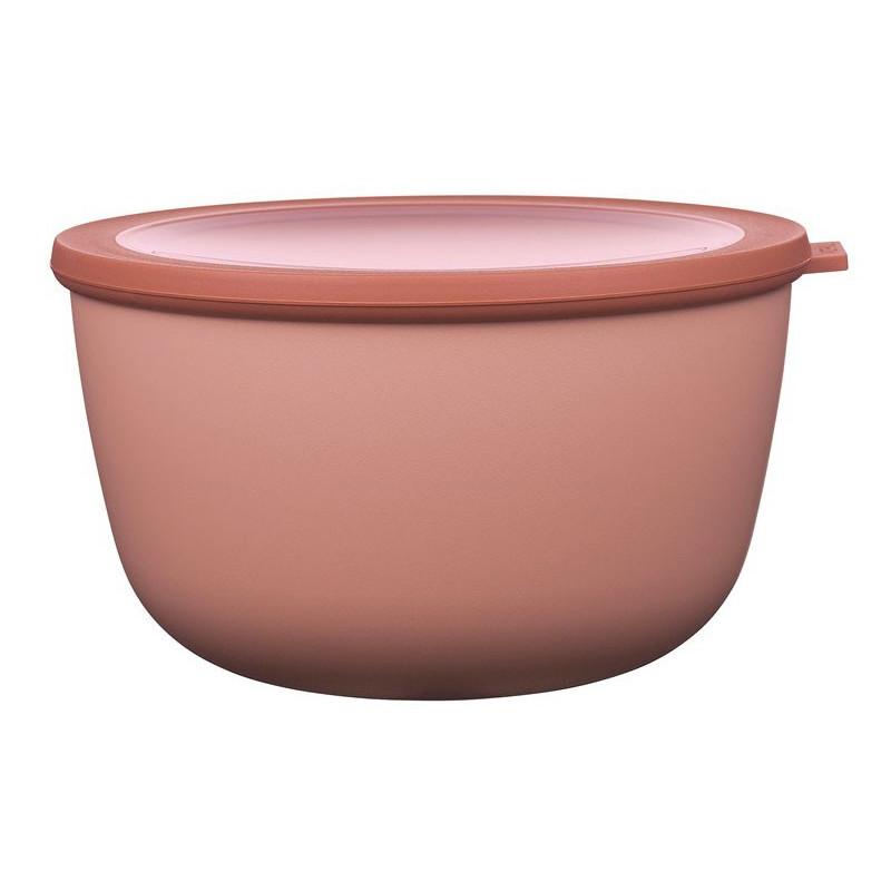 Rosti Mepal Skål med lock Cirqula, 3 L, rosa