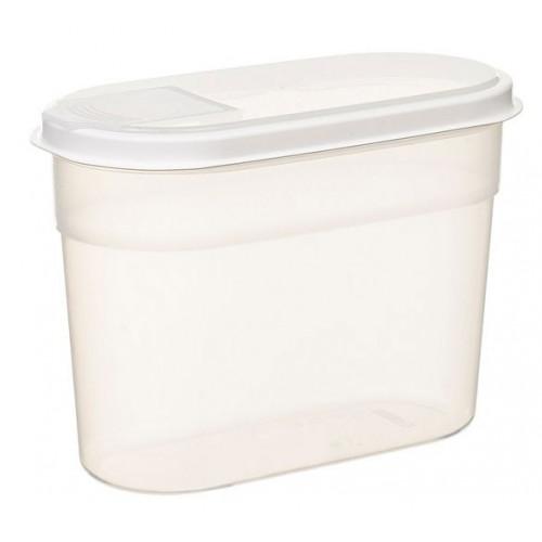 Förvaringsburk med doseringslock, 1,4 l - Nordiska Plast