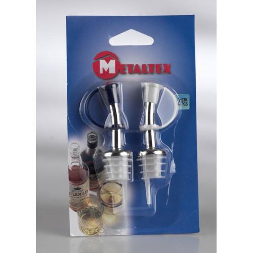 Metaltex Droppkork, 2-pack