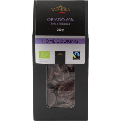 Valrhona Choklad Oriado 60%, 200 g, Eko