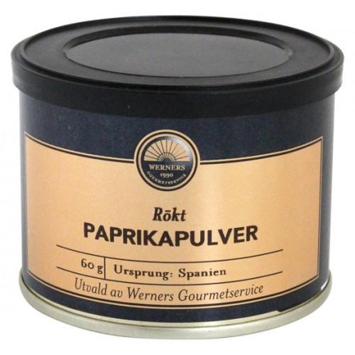 Werners Gourmetservice Rökt Paprikapulver, 60 g