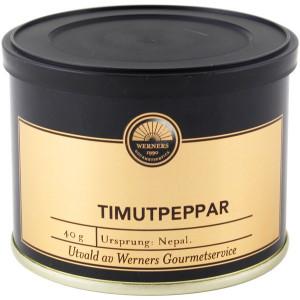 Timutpeppar, 40 g - Werners Gourmetservice