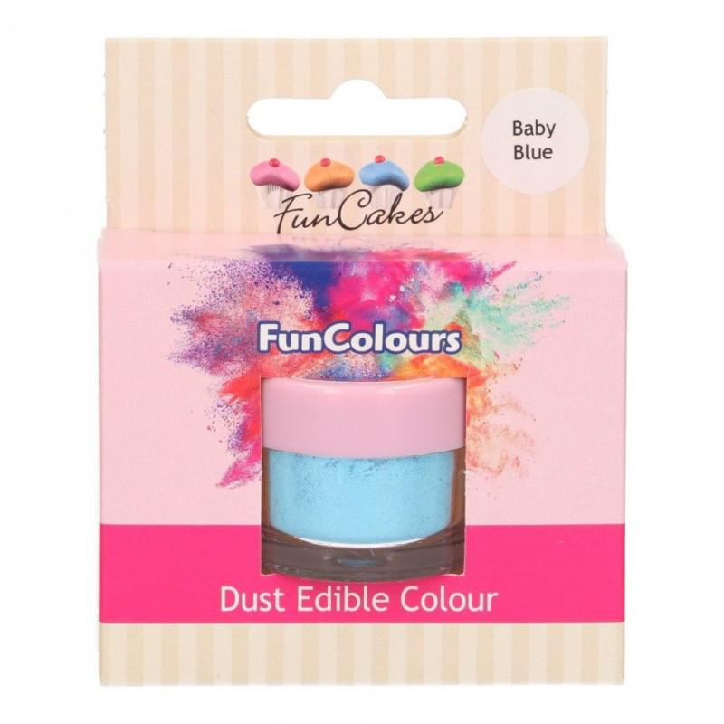 FunCakes Pulverfärg Babyblå